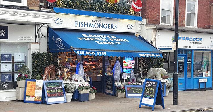 Sandy?s Fishmongers