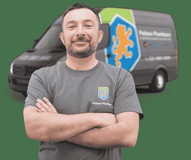 Plumber and Van