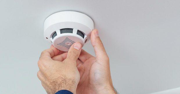Checking Carbon Monoxide Alarm