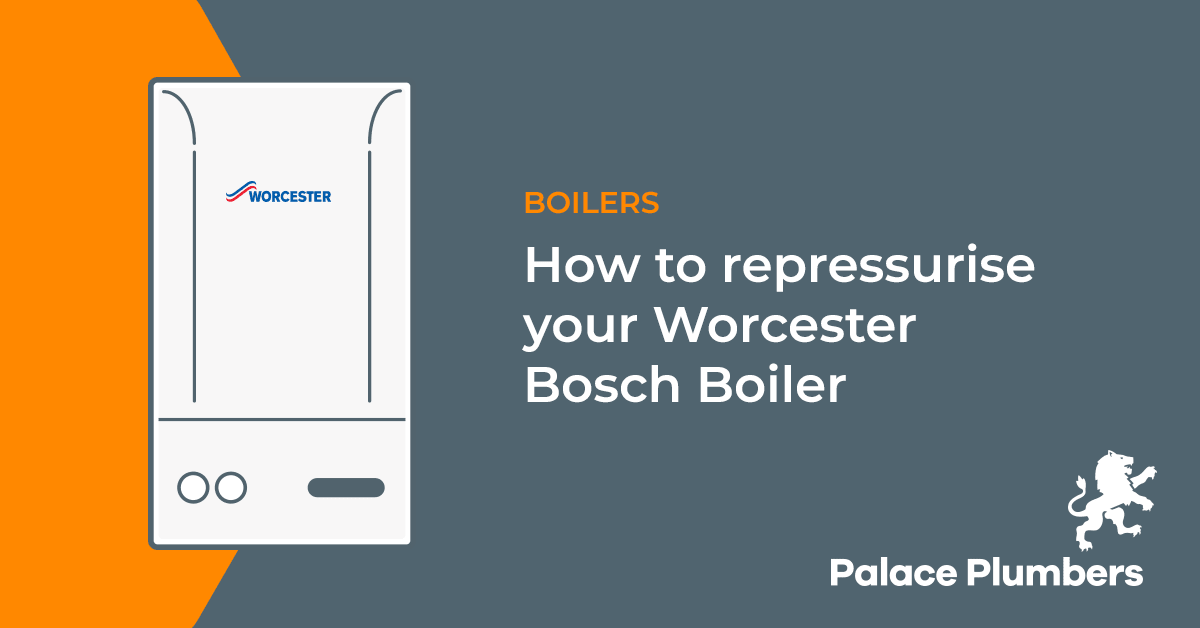 How to repressurise your Worcester boiler