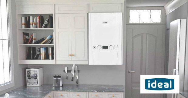 Ideal Boiler in Kitchen