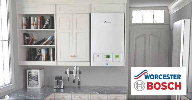 Worcester Bosch Boiler in Kitchen